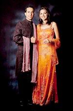 Nishita and Mahesh Vashi Mayani